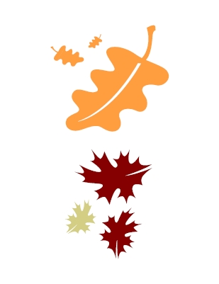 Fall Leaf Clip Art Outline   Clipart Panda   Free Clipart Images