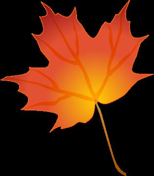 Cute Fall Leaf Clipart - Clipart Kid