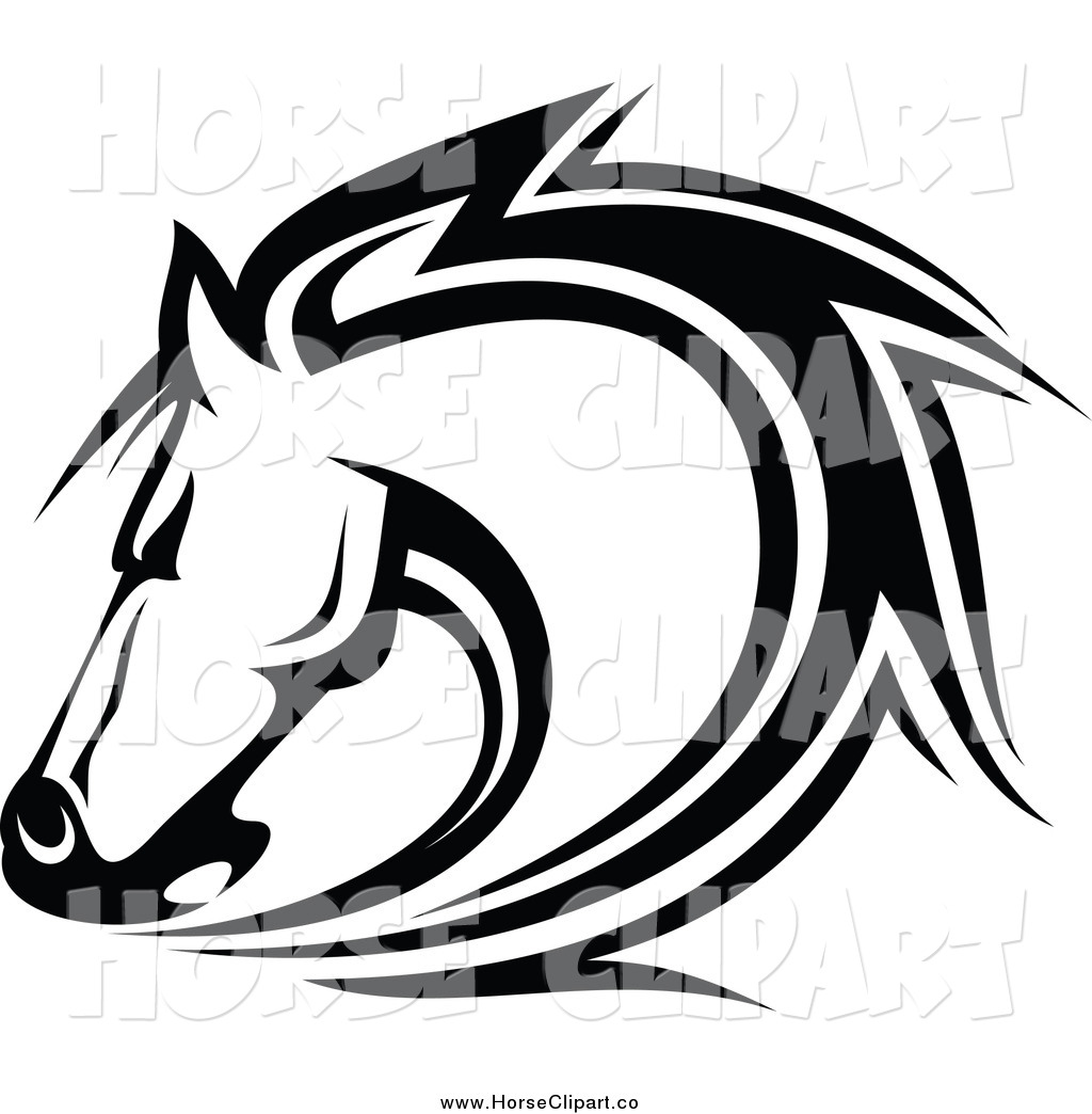 Black Horse Clipart - Clipart Kid