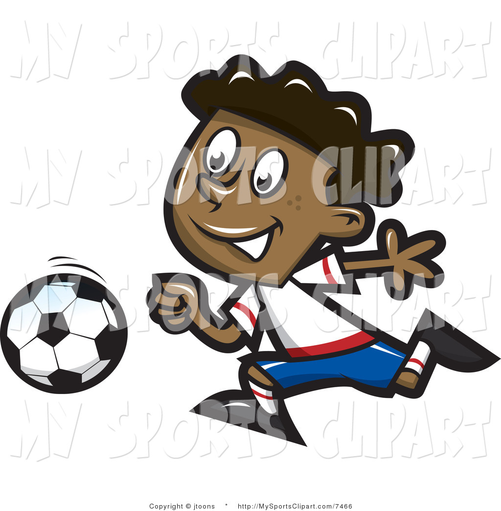 Free Sports Clip Art Of A Boy Playing Soccer  This Soccer Stock Sports