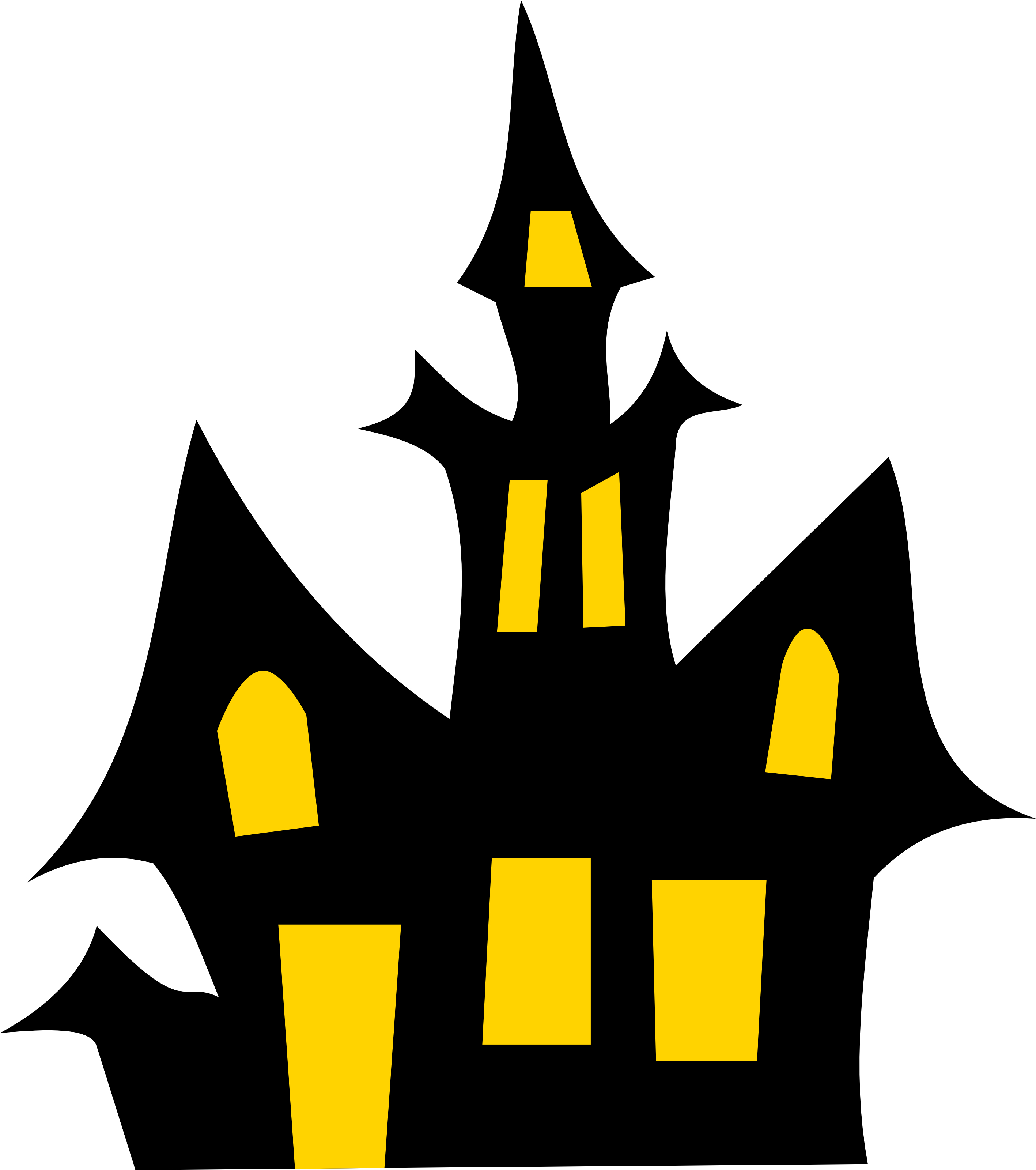 Halloween Cat Clipart - Clipart Kid