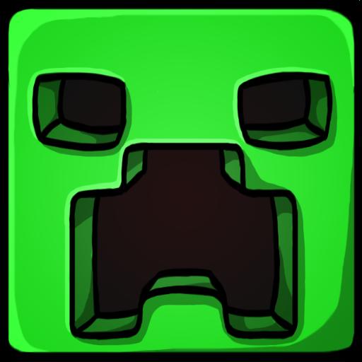 Clip Art Minecraft Clipart minecraft clipart kid creeper 2 icon png image iconbug com