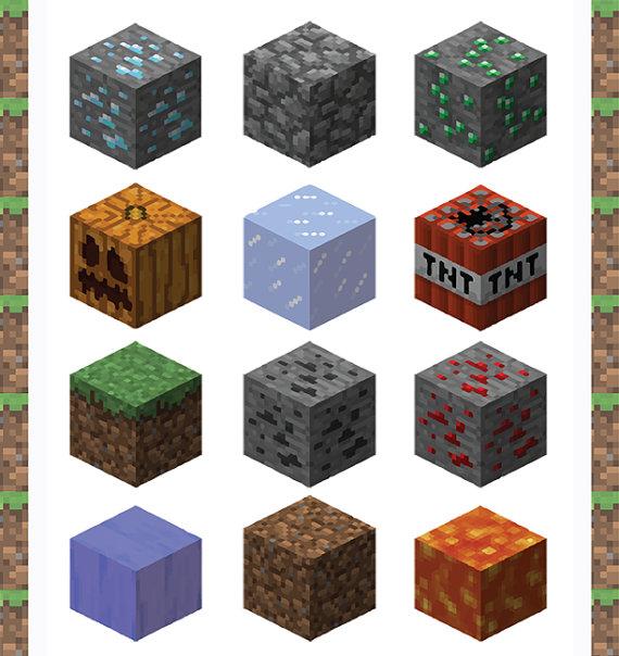 Stone Block Clip Art : Minecraft clipart suggest
