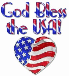 Patriotic Clipart 18   God Bless 4