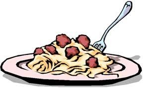 Spaghetti Meal Clipart - Clipart Kid