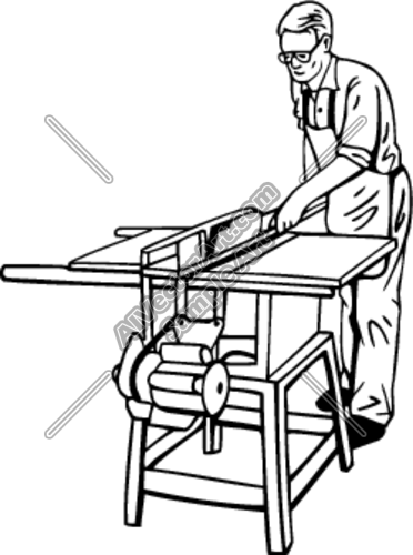 Table Saw Clipart Tablesaw