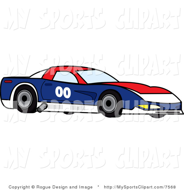 This Motorsports Stock Sports Image  7568 Was Designed By Pams Clipart