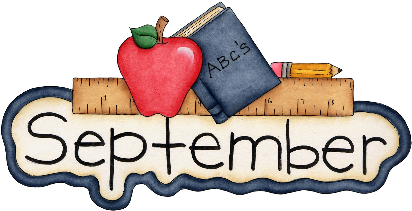 Clip Art September Pictures Clip Art month of september clipart kid welcoming and the new school office year some