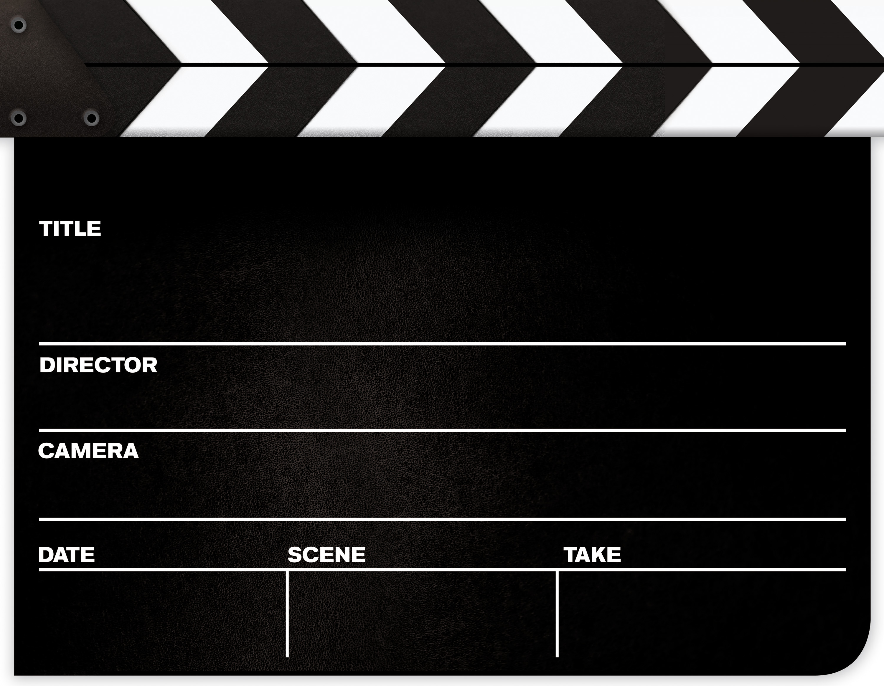 Movie Clapper Board Clipart - Clipart Kid