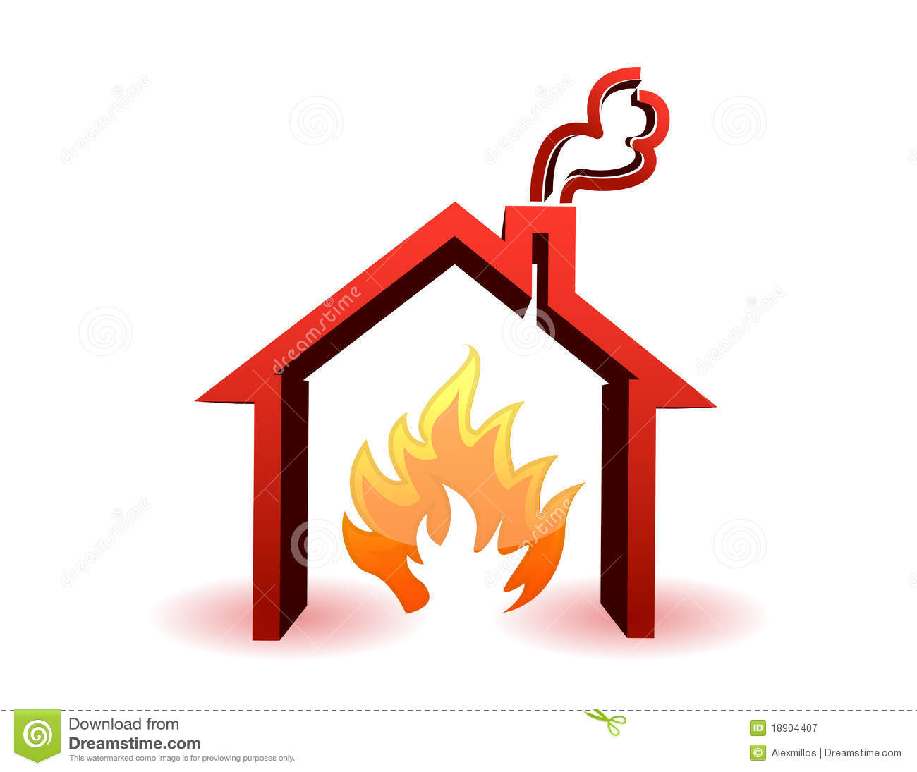 Burning House Clipart - Clipart Suggest