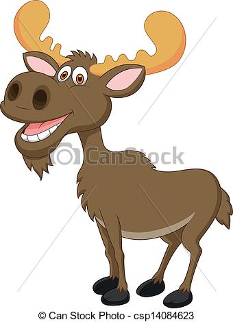 Cartoon Moose Images Clipart