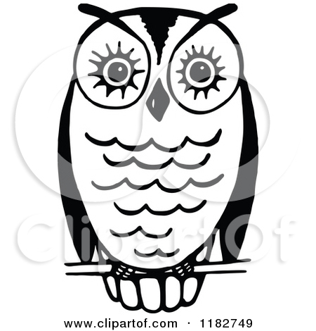 Free Owl Black And White Clipart - Clipart Kid