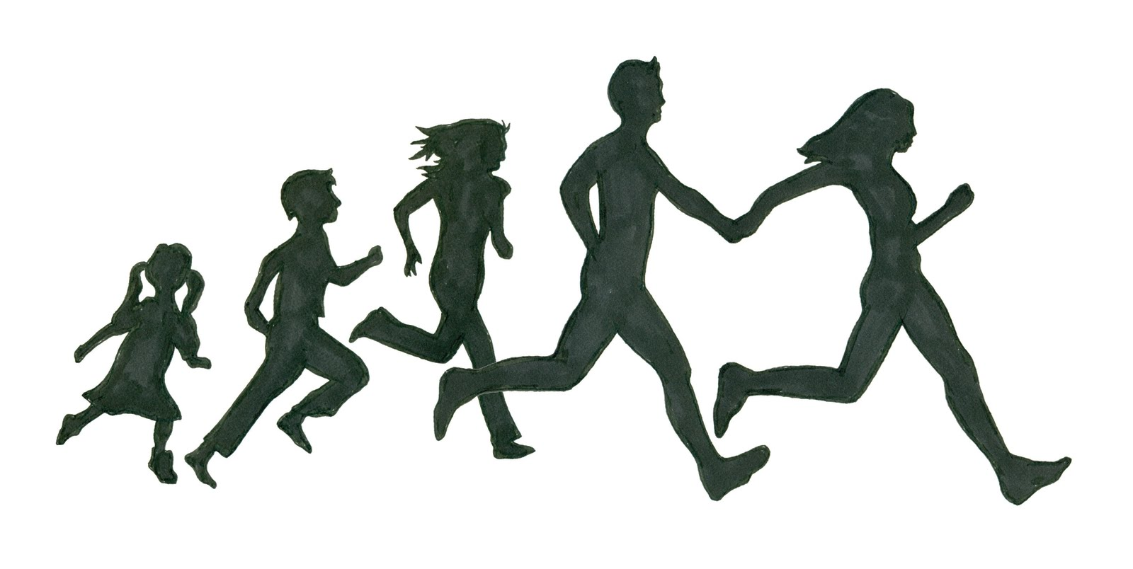 Person Running Away Clipart - Clipart Kid