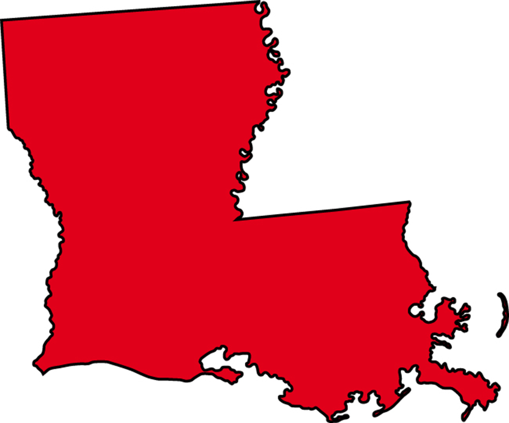 Outline Louisiana Clipart - Clipart Suggest