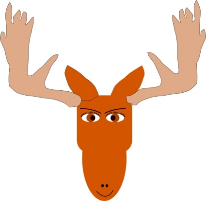 Moose Clipart Cartoon   Clipart Panda   Free Clipart Images