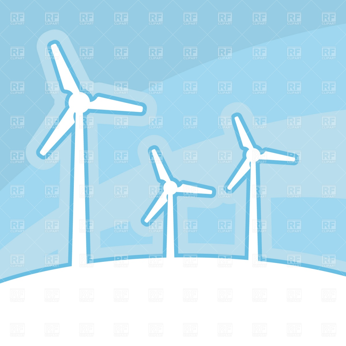 Wind Turbine Download Royalty Free Vector Clipart  Eps