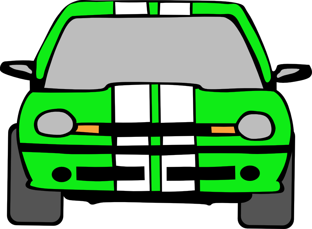 Moving Car Clipart - Clipart Kid