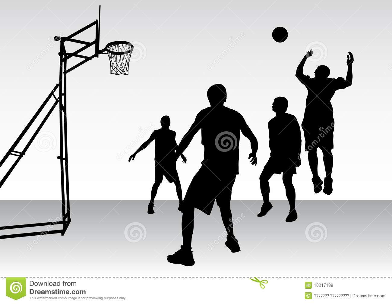 Basketball Team Royalty Free Stock Images   Image  10217189