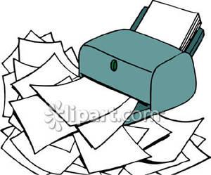 Broken Printer Clipart - Clipart Kid