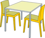 Go Back   Pix For   Classroom Table And Chairs Clipart