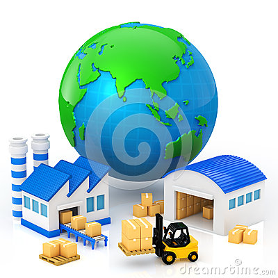 Manufacturing Clipart Manufacturing Plant Icon Factory Clipart