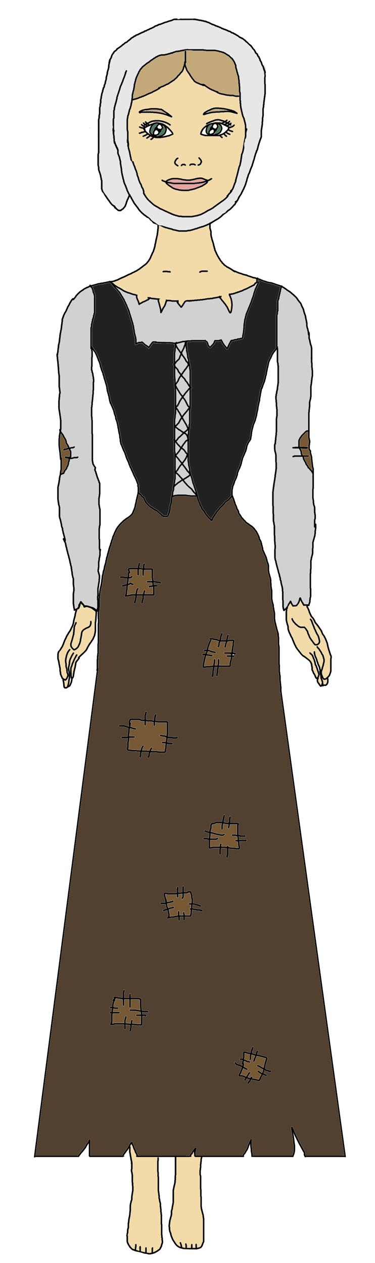 Medieval Woman Clipart - Clipart Suggest