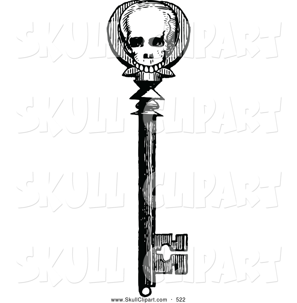 Old Fashioned Key Clip Art
