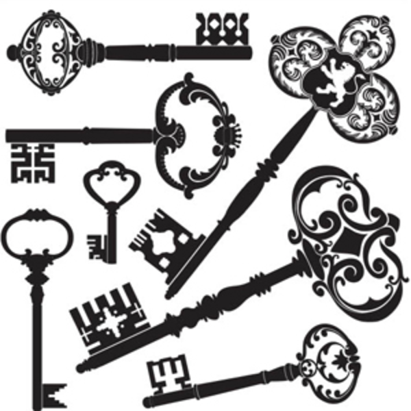 Old Keys Mix   Free Images At Clker Com   Vector Clip Art Online