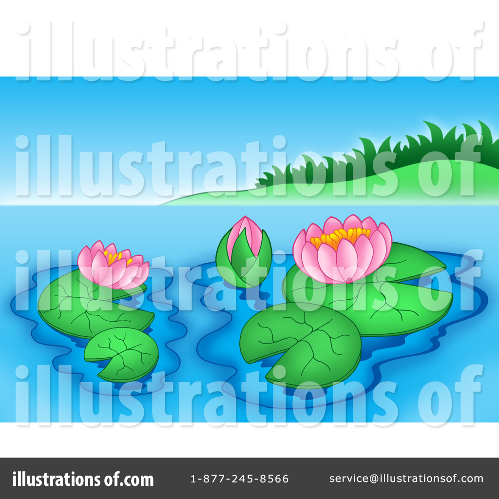Pond Clipart  222303 By Visekart   Royalty Free  Rf  Stock