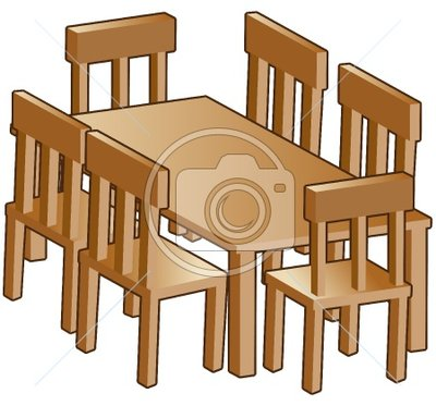 Table And Chairs Clipartdining Room Table Clipart Dining Room Table