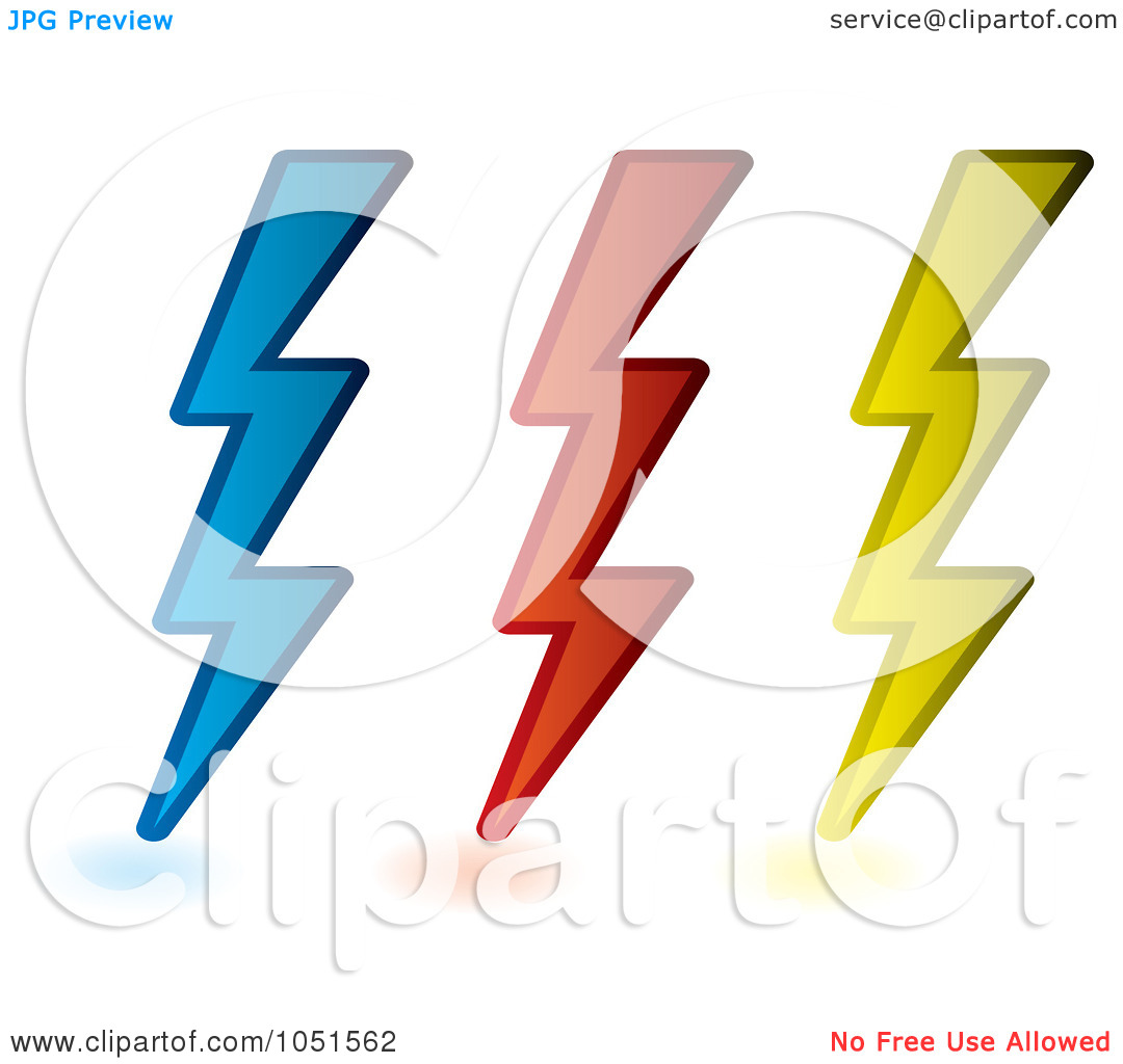 Yellow Lightning Bolt Clipart   Clipart Panda Free Clipart Images