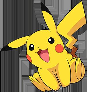 Ashs Pikachu Main Image Character Page Clipart