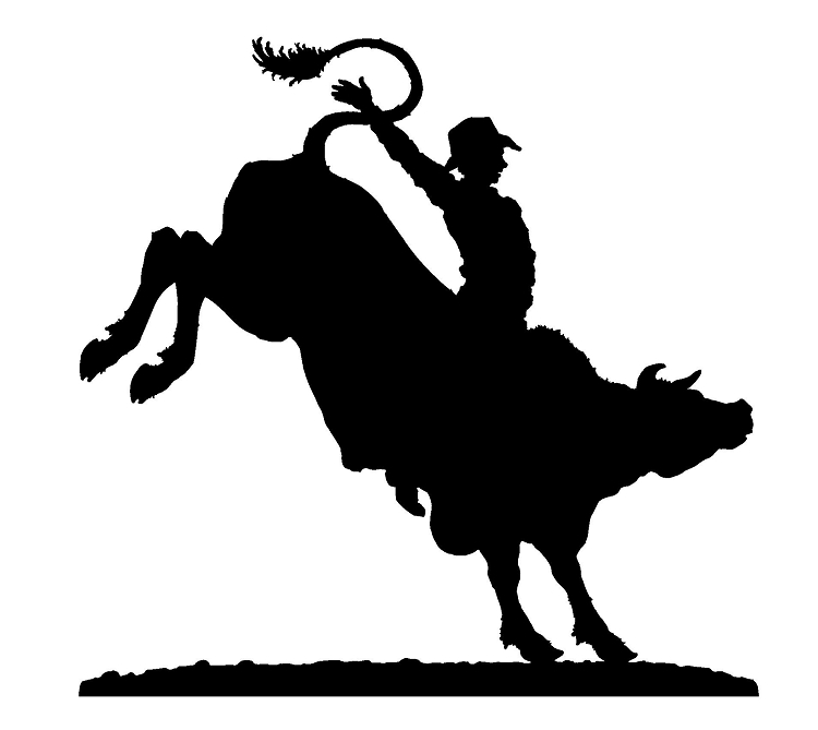 Bull Rider Clipart - Clipart Suggest