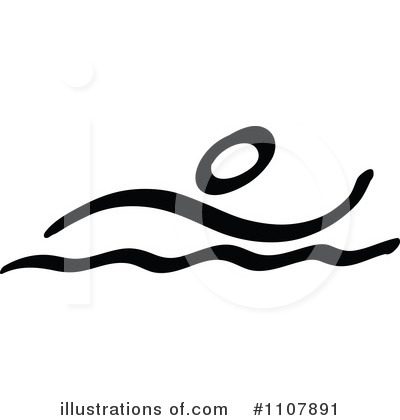 Royalty Free  Rf  Swimming Clipart Illustration By Zooco   Stock