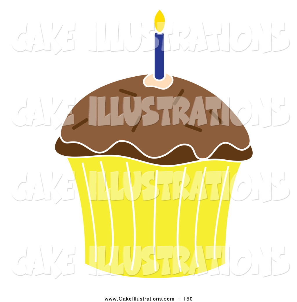 Viewing Gallery For   Yellow Cupcake Clipart