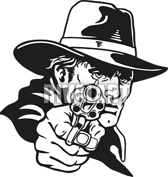 Cowboy Pistol Clipart - Clipart Kid