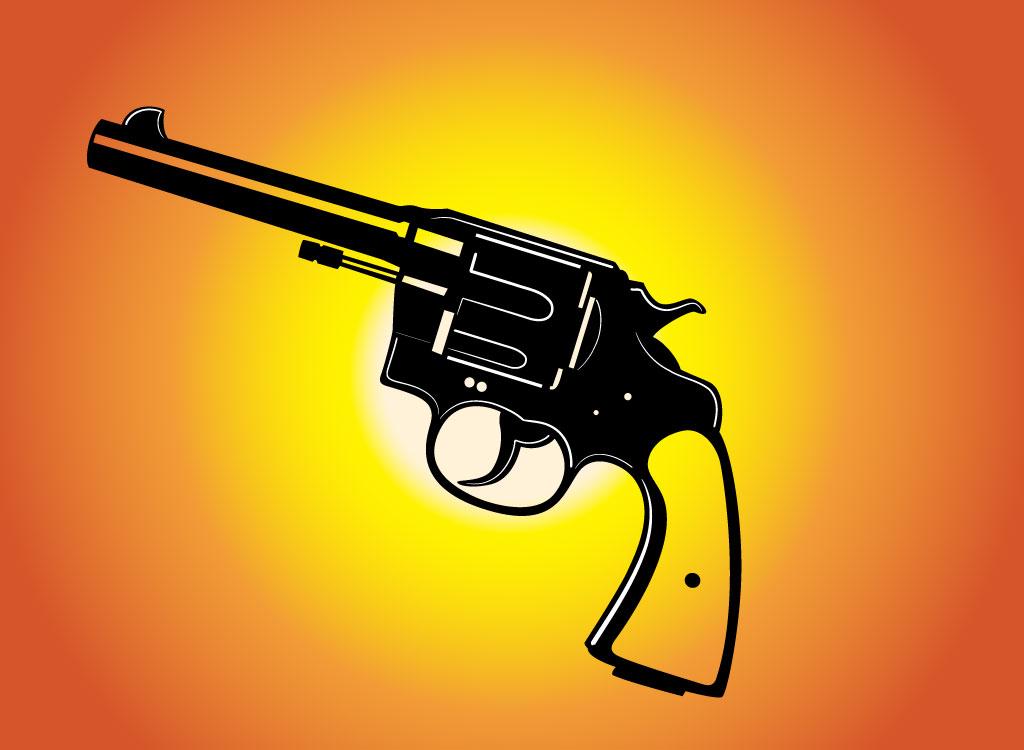 Western Pistol Clipart - Clipart Suggest