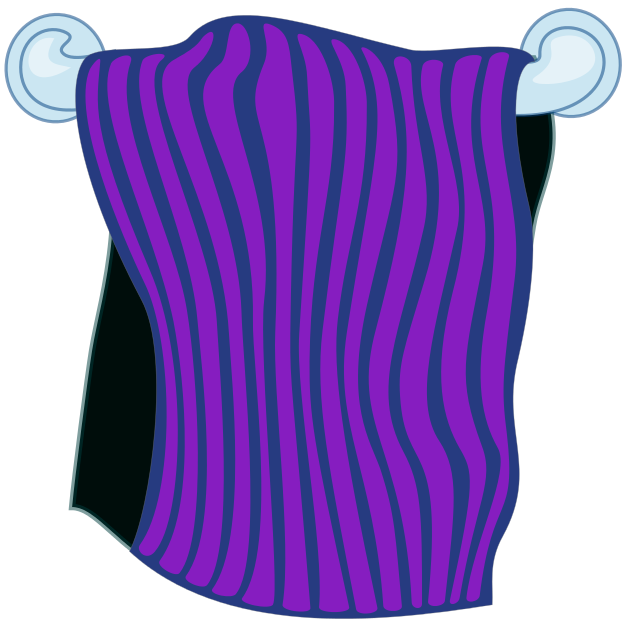 Bathroom Towel Clipart - Clipart Suggest