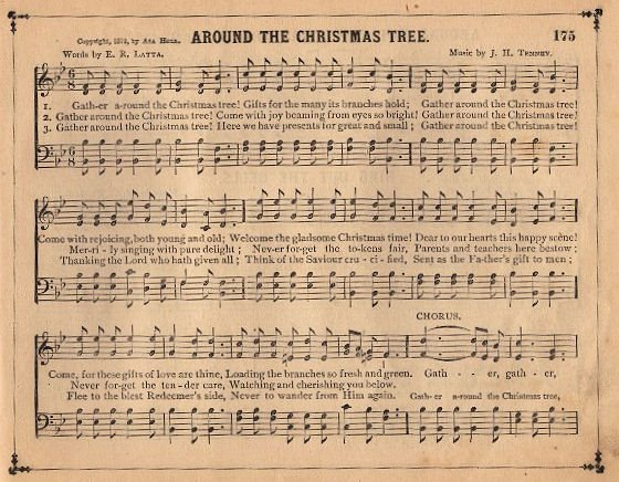 Another Piece Of Vintage Sheet Music  This One Has A Christmas