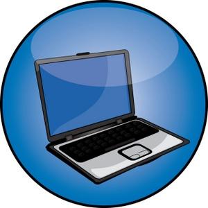 PC Laptop Clip Art