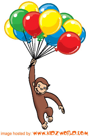 Curious George With Balloons These Curious George Video
