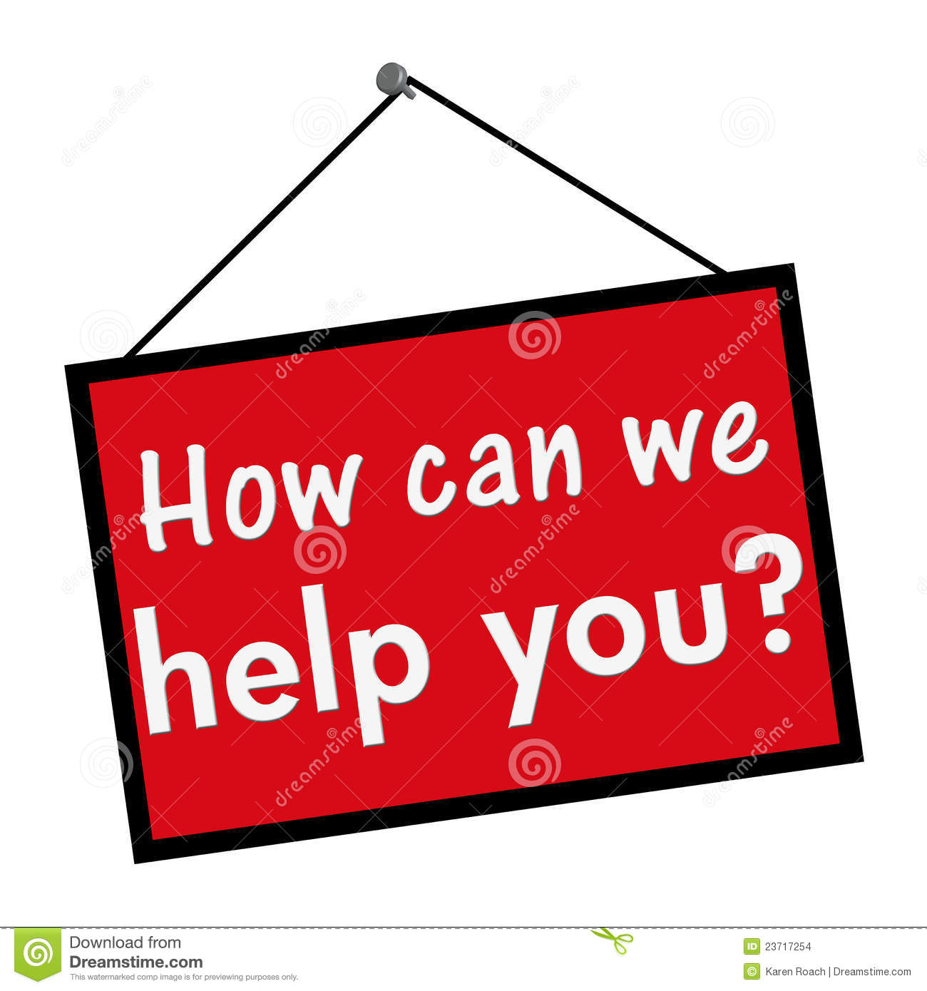 Help Wanted Sign Clipart How Can We Help You Sign