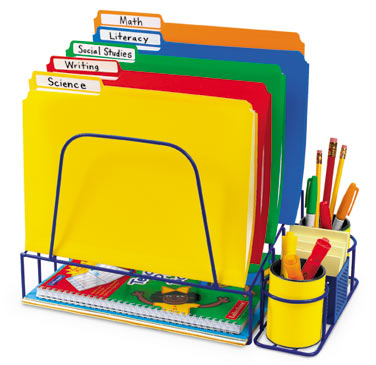 Like How In This Lakeshore Organizer You Can Fit Books Or A Binder