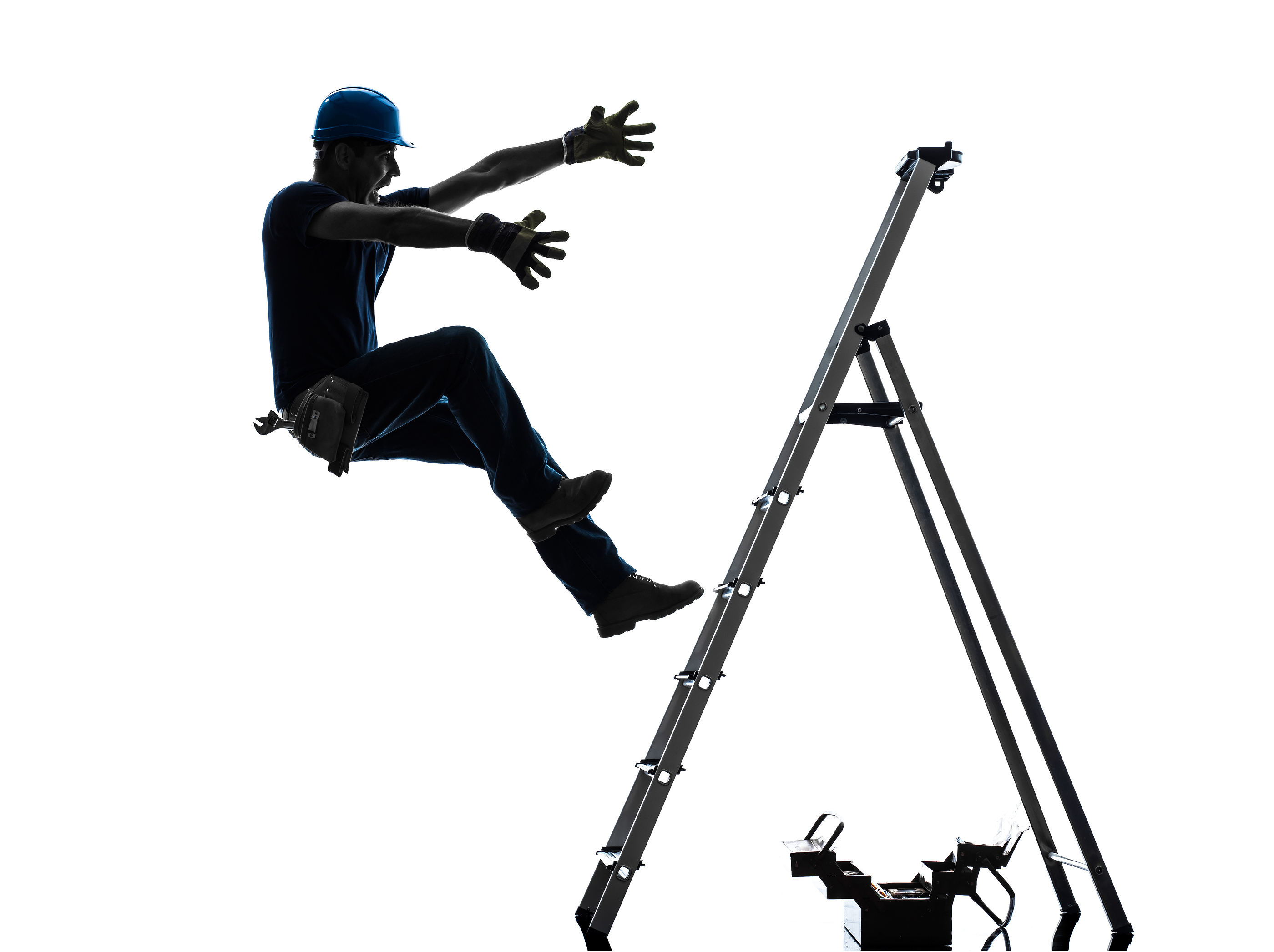 Related Man Falling Off Cliff Man Falling Off Ladder Clipart