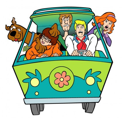 Scooby Doo 1 Free Vector In Encapsulated Postscript Eps    Eps