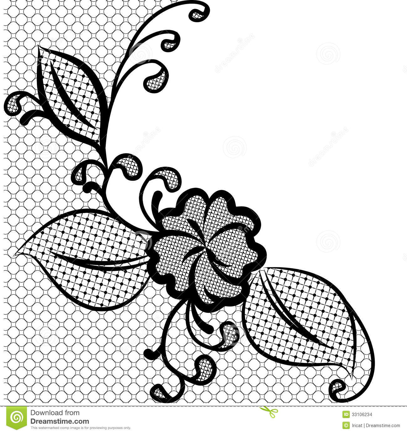 greeting card black and white clipart