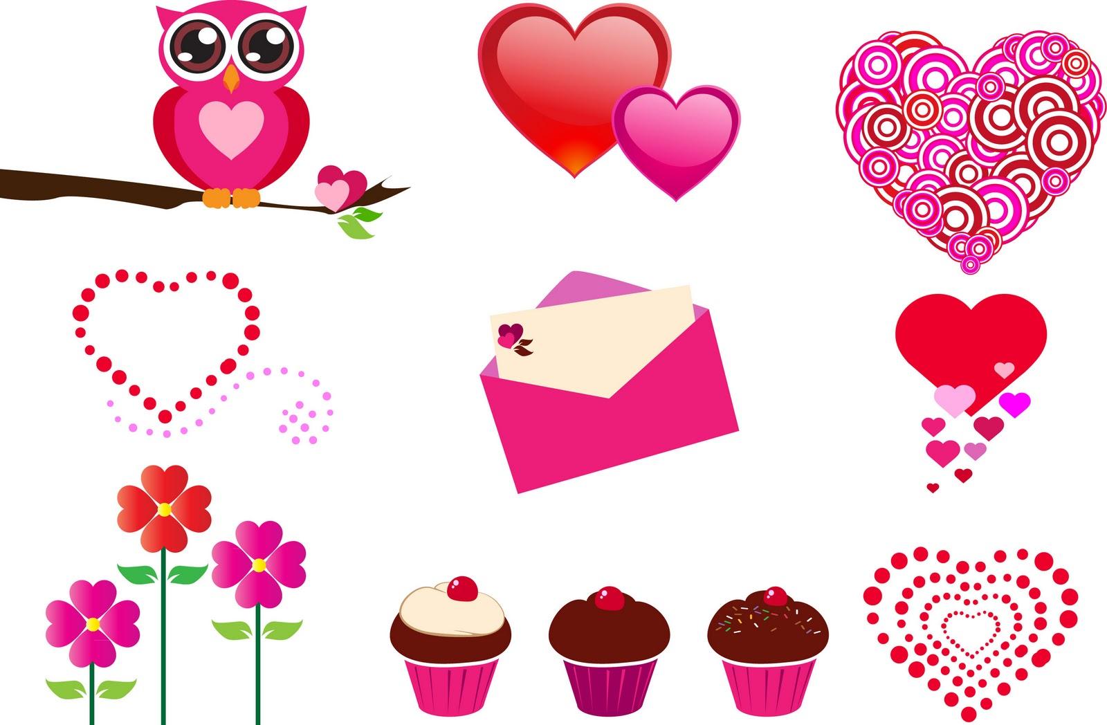 Valentines Stuff Clipart - Clipart Kid