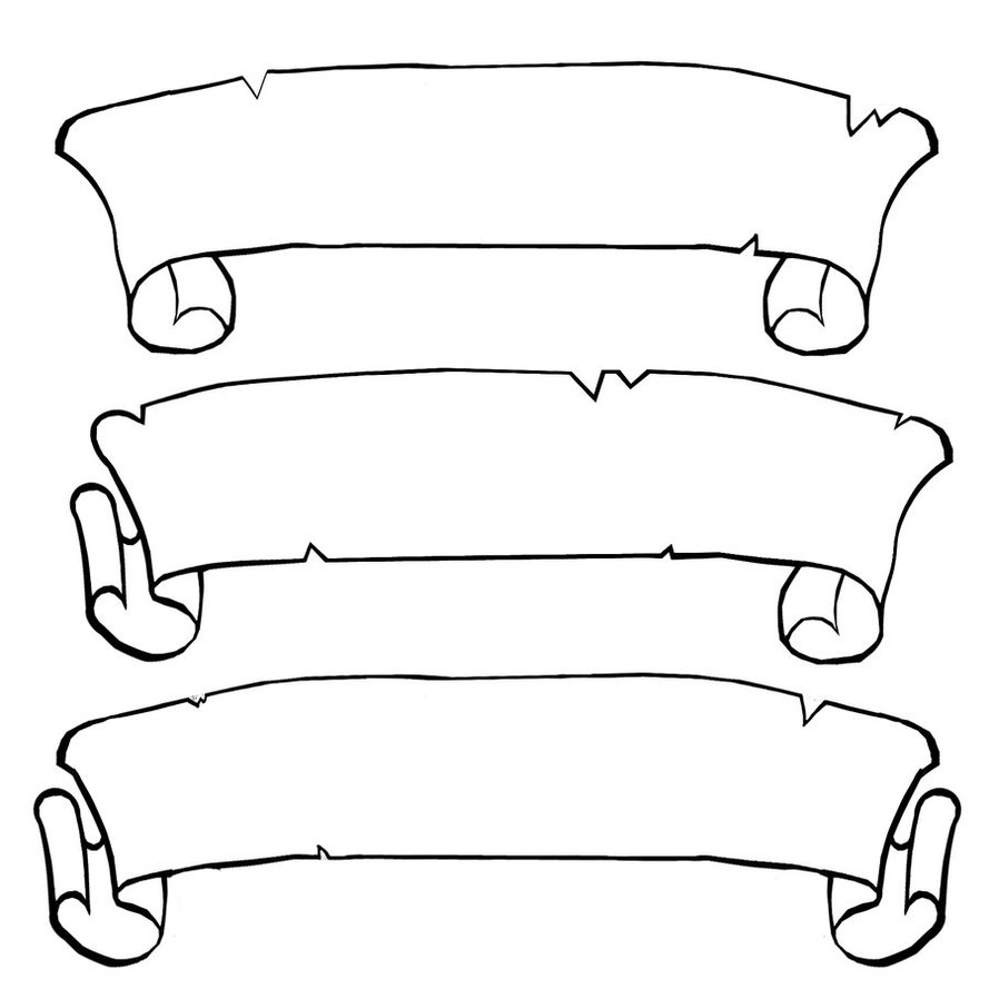 15 Scroll Template Free Download Free Cliparts That You Can Download