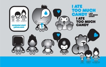 Candy Vector Misc   Free Vector For Free Download