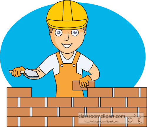 Brick Building Clipart - Clipart Kid